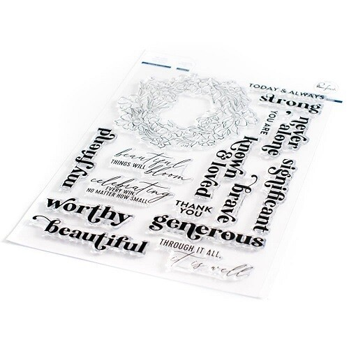 """PinkFresh Studios Stamp - Known and Loved 6"""" x 8"""" - 105221"""
