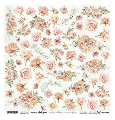 ScrapandMe - Amidst The Roses  - Fussy Cutting Sheet