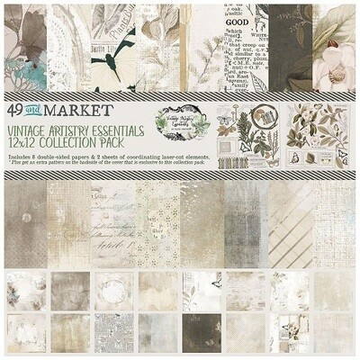 49 & Market - Vintage Artistry - Essentials - 12 x 12 Paper Collection