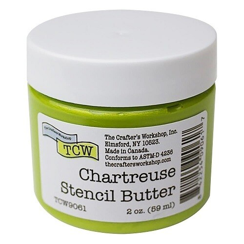 The Crafters Workshop ( TCW ) - Stencil Butter - Chartreuse