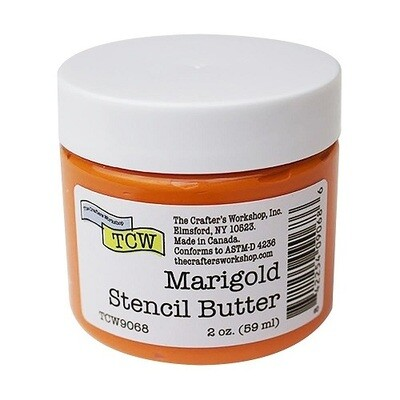 The Crafters Workshop ( TCW ) - Stencil Butter - Marigold
