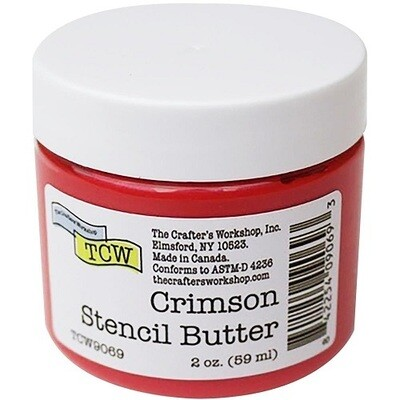 The Crafters Workshop ( TCW ) - Stencil Butter - Crimson