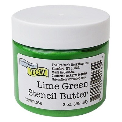 The Crafters Workshop ( TCW ) - Stencil Butter - Lime Green