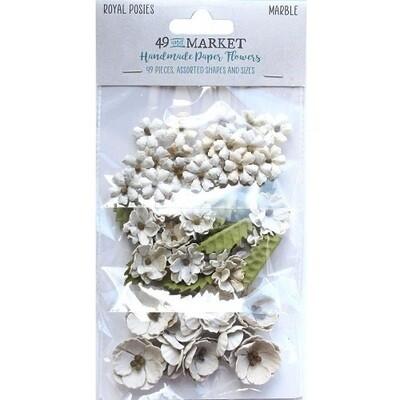 49 & Market - Royal Posies Paper Flowers - Marble