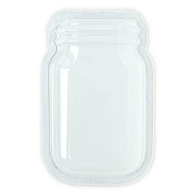 Sizzix - Shaker Dome - Jar - 6 pack
