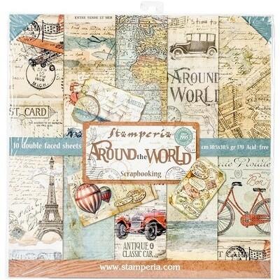 Stamperia - Around The World - 12 x 12 Collection - SBBL28