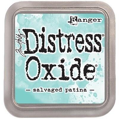 Tim Holtz Distress Oxide - Salvaged Patina Oxide