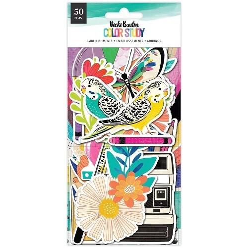 Vicki Boutin - Colour Study - Ephemera - 50pieces