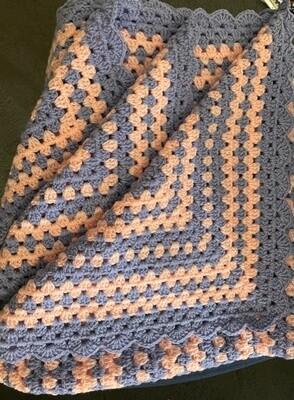 Handmade - Crochet Knee Rug - Acrylic