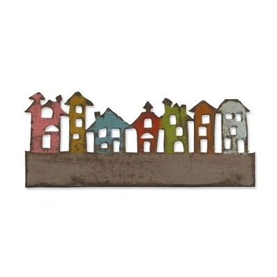 Sizzix - Tim Holtz - Alterations - On The Edge Townscapes - 656919