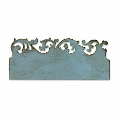 Sizzix - Tim Holtz - Alterations - On The Edge Scrollwork - 656624