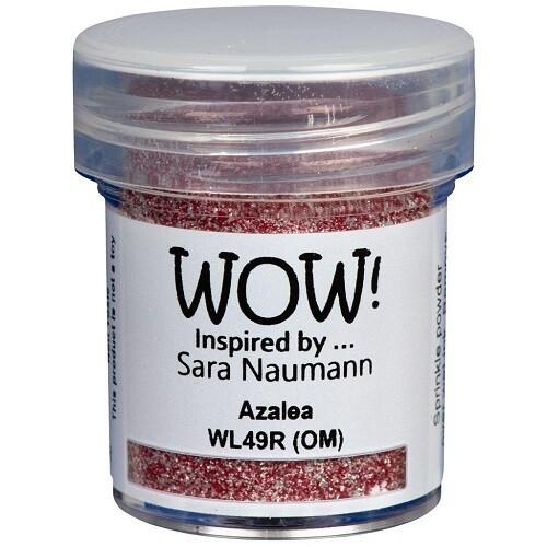 WOW Embossing Glitter Powder - Azalea - 15ml / 1.oz