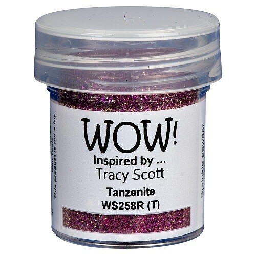 WOW Embossing Glitter Powder - Tanzenite - 15ml / 1.oz