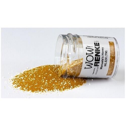 WOW Embossing Glitter Powder - Honey - 15ml / 1.oz