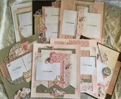 Celebr8 - Love Story Page Layout Kit