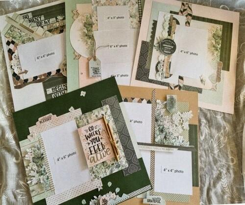 Celebr8 - Serenity Page Layout Kit