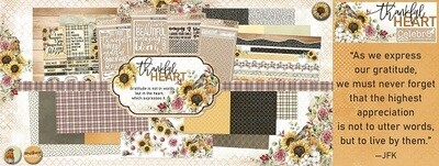 Celebr8 - Thankful Heart - 12 x 12 Paper Collection