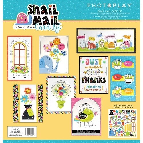 Photoplay - Snail Mail Thank you Card Kit