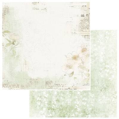 49 & Market - Vintage Artistry - Everyday - Delicate - 12 x 12 Printed Cardstock