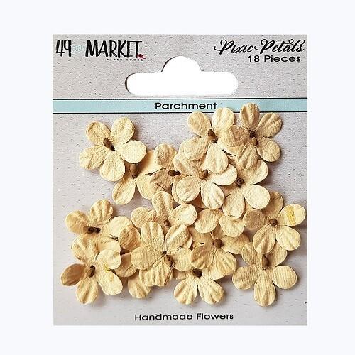 49 & Market - Pixie Petals - Parchment - 18pcs