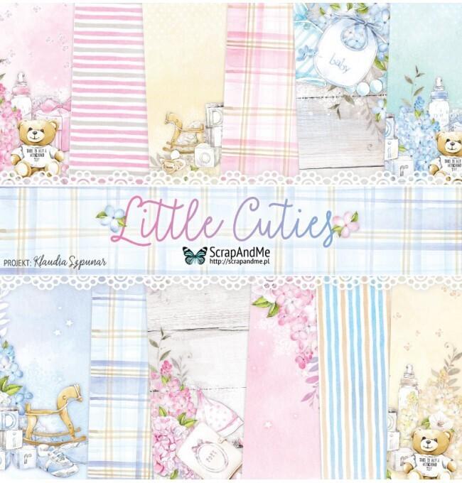 ScrapAndMe - Little Cuties  - 12 x 12 Paper Collection