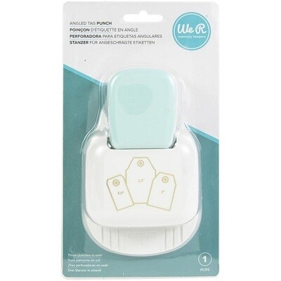 We R Memory Keepers - 3 in 1 Tag Punch