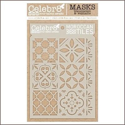 Celebr8 Stencils / Masks - Moroccan Tiles - SM4642