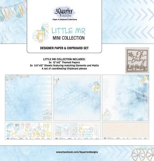 3 Quarter Designs - Mini Collections - Little Mr