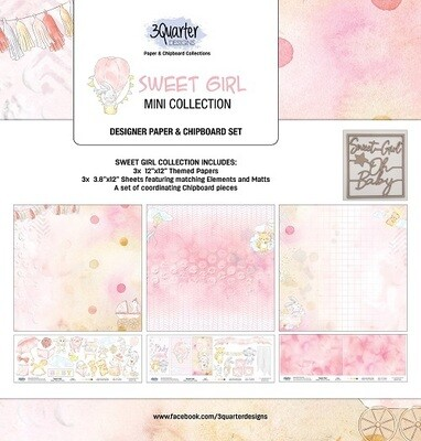 3 Quarter Designs - Mini Collections - Sweet Girl
