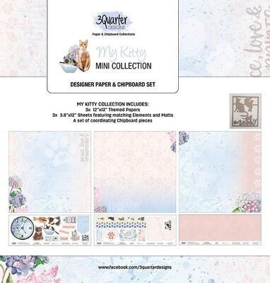 3 Quarter Designs - Mini Collections - My Kitty