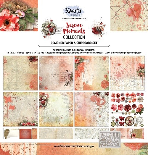 3 Quarter Designs - 12 x 12 Collections - Serene Moments