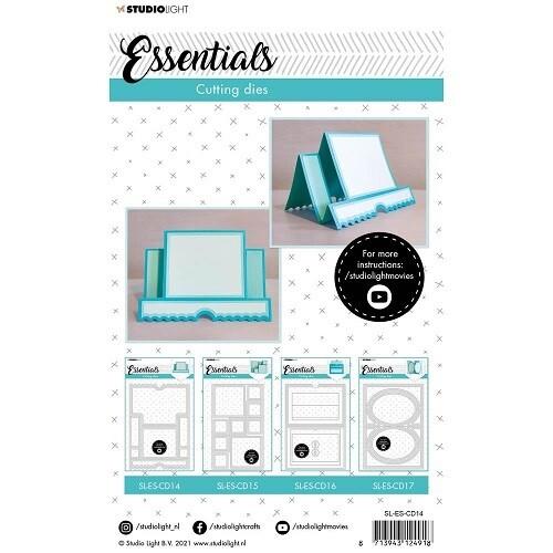 Studio Light - Essentials Dies - Card Shaping - NL14
