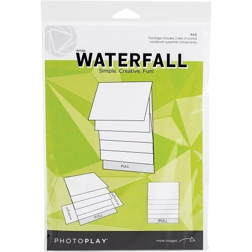 """Photoplay Makers Series - Waterfall Mechanical Set - 4"""" x  6"""" - White - PPP2161"""