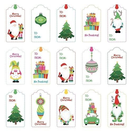 Photoplay - Tags for Christmas - 12 x 12 Sheet