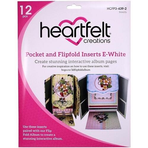Pocket & Flipfold Inserts F-White (HCFP1-440-2)