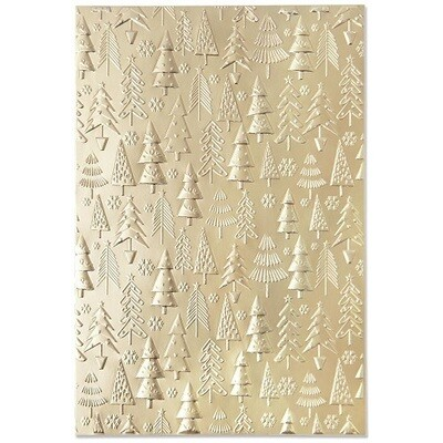 Sizzix - 3D  Textured Impressions - Embossing Folder - Christmas Tree