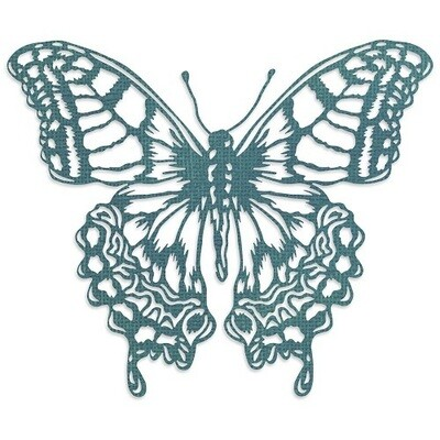 Sizzix Thinlits - By Tim Holtz - Perspective Butterfly