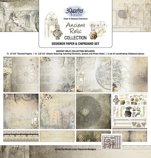 3 Quarter Designs - 12 x 12 Collections - Ancient Relic