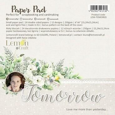 Lemoncraft - Tomorrow Collection - 6 x 6 Scrap pad