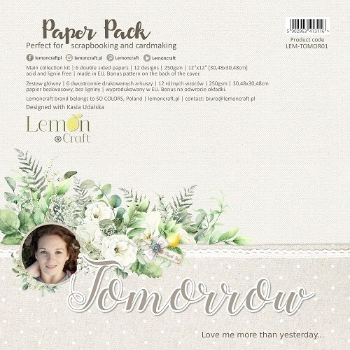 Lemoncraft - Tomorrow - 12 x 12 Collection Papers
