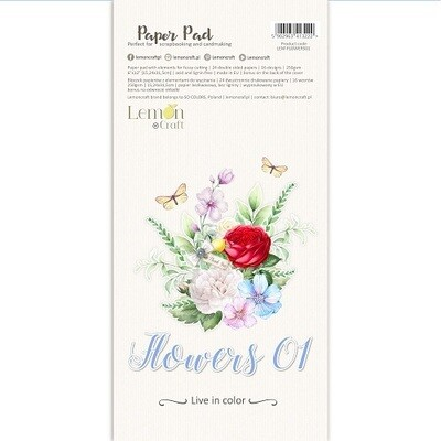 Lemoncraft - Element Book - Flowers 01 - 6 x 12