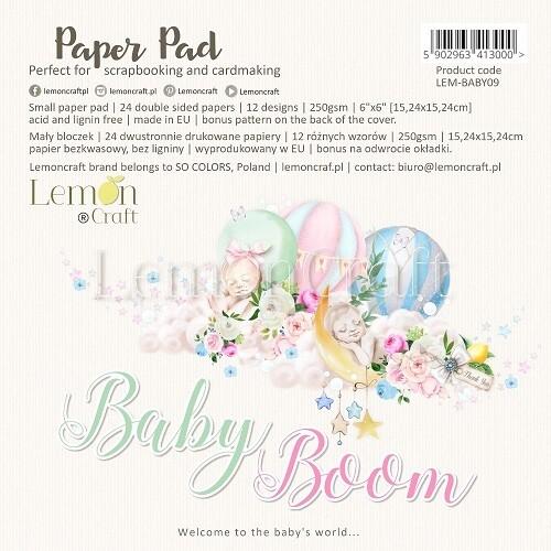 Lemoncraft - Baby Boom Collection - 6 x 6 Scrap pad