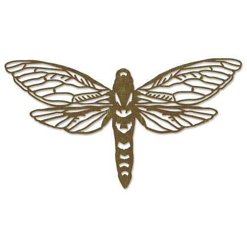 Sizzix Thinlits - By Tim Holtz - Perspective Moth - 11 pcs - 665434