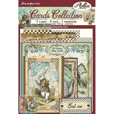 Stamperia - Alice In Wonderland Card Collection