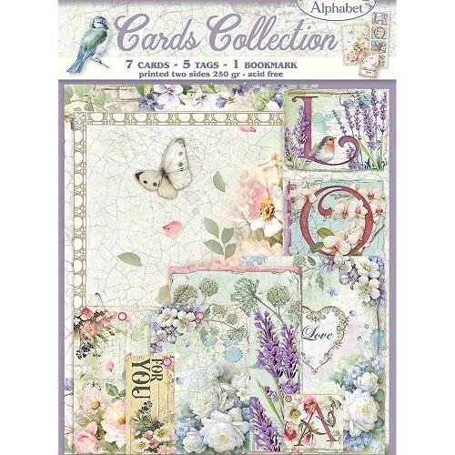 Stamperia - Flower Alphabet Card Collection