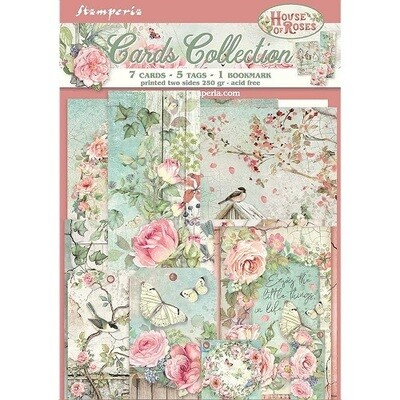 Stamperia - House of Roses Card Collection