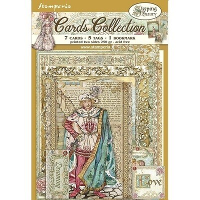 Stamperia - Sleeping Beauty Card Collection