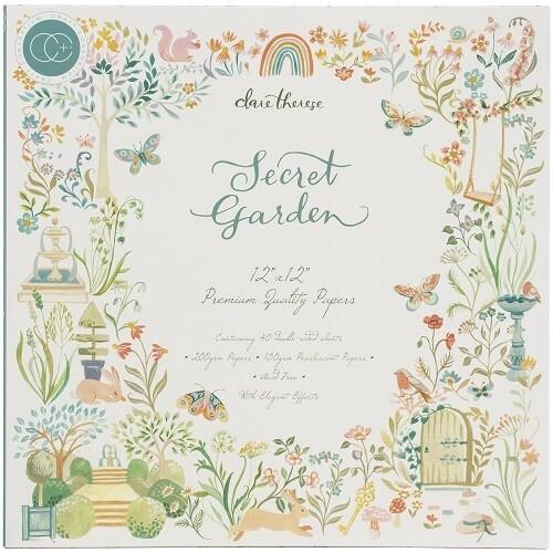 Craft Consortium - 12 x 12 Paper Pad - Secret Garden