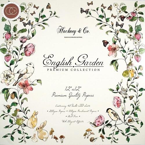 Craft Consortium - 12 x 12 Paper Pad - English Garden