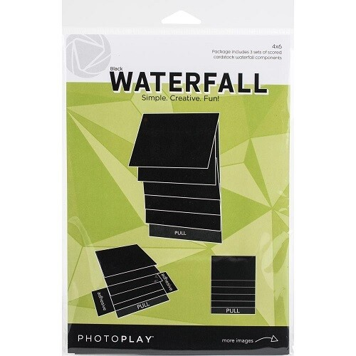 """Photoplay Makers Series - Waterfall Mechanical Set - 4"""" x  6"""" - Black - PPP2165"""